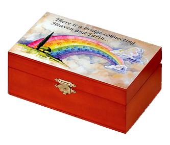Rainbow bridge urn
