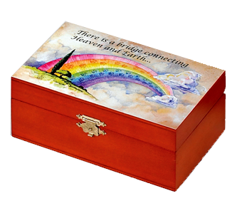 Rainbow bridge urn