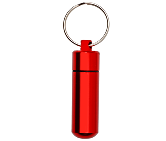 Red keychain
